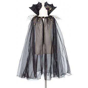 Płaszcz czarny strój czarownicy Cate dla dzieci 3-4 lata, Souza!