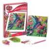 Zestaw kreatywny obraz z diamentami Koliber dla dzieci +8, SentoSphere
