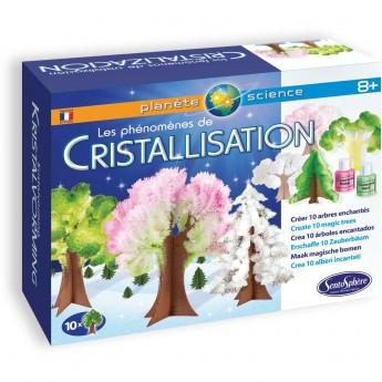 Zestaw naukowy do eksperymentów z krystalizacją dla dzieci +8, SentoSphere