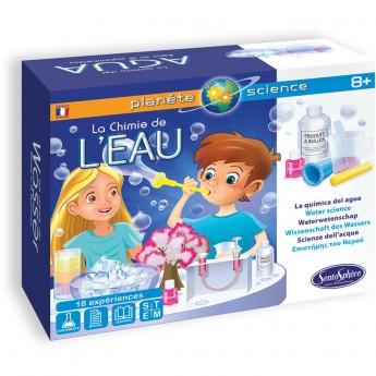 Zestaw naukowy do eksperymentów z wodą dla dzieci +8, SentoSphere