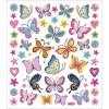 Motylki i Kwiaty ozdobne naklejki metaliczne dla dzieci +3, Creativ Company