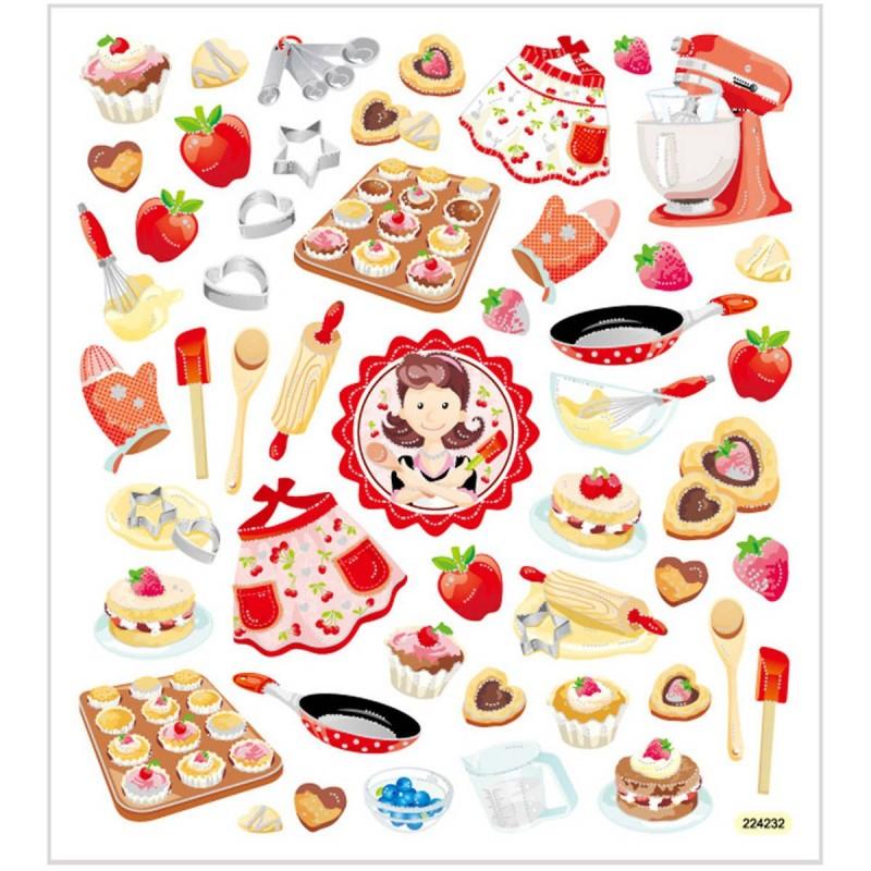 Wypieki ozdobne naklejki dla dzieci +3, Creativ Company