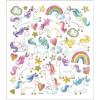 Jednorożce, tęczy i chmurki naklejki dla dzieci +3, Creativ Company