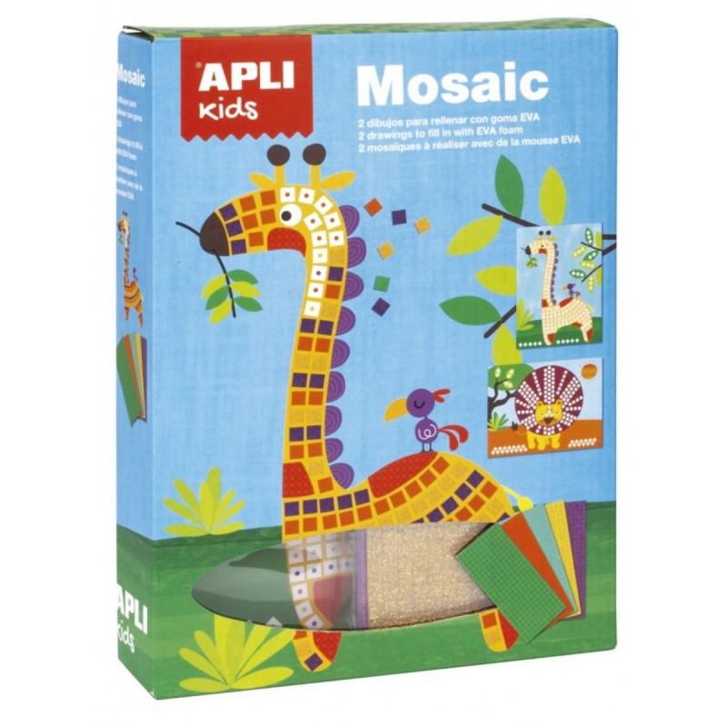 Zestaw artystyczny mozaika Sawanna, Apli Kids