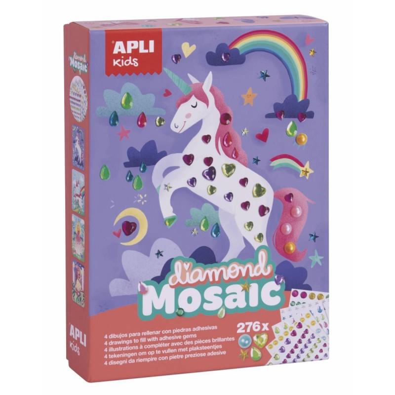 Zestaw artystyczny mozaika diamentowa, Apli Kids