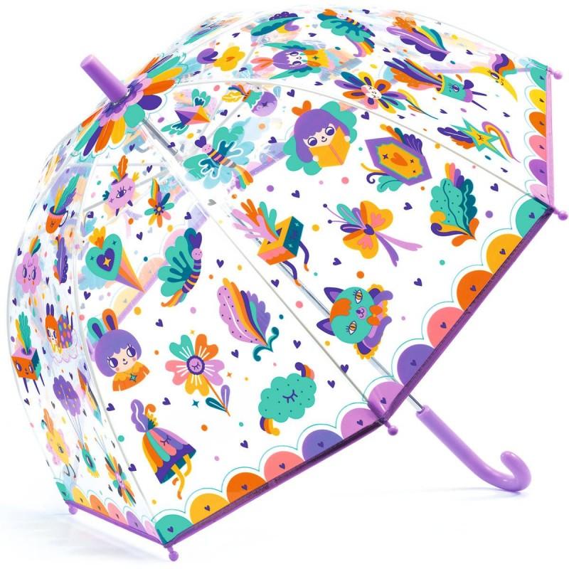 Parasol przeciwdeszczowy TĘCZA DD04705