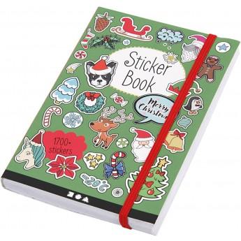 Księga naklejek Bozonarodzeniowych 2800 naklejek dla dzieci od 3 lat, Creativ Company