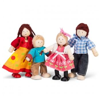 4 lalki drewniane Zima, Le Toy Van