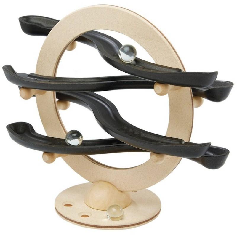 Plan Toys Kulodrom drewniany Curvy Click Clack +3
