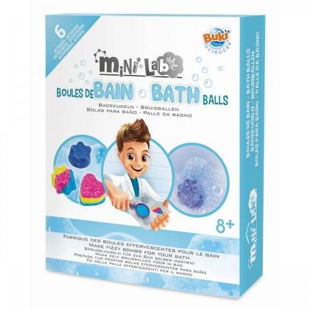 Buki Mini lab Zestaw do stworzenia kul do kąpieli +8
