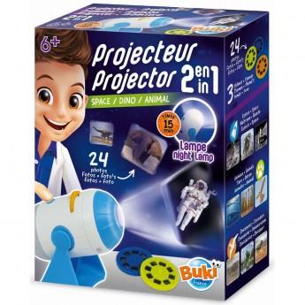 Buki Projektor i lampka nocna 2w1 dla dzieci od 6 lat