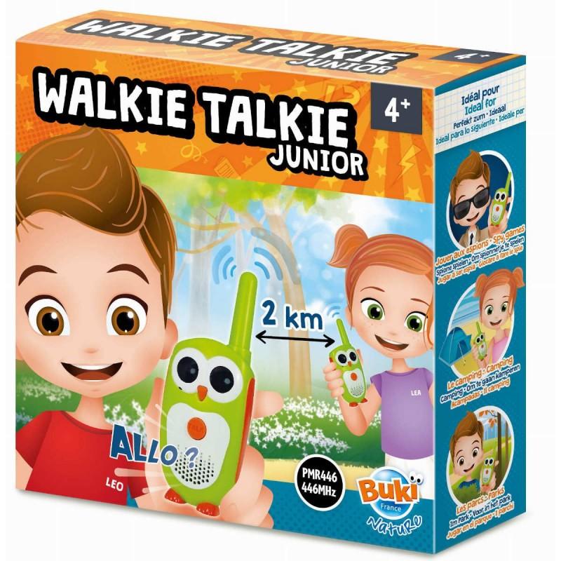 Buki WALKIE-TALKIE JUNIOR zasięg 2 km