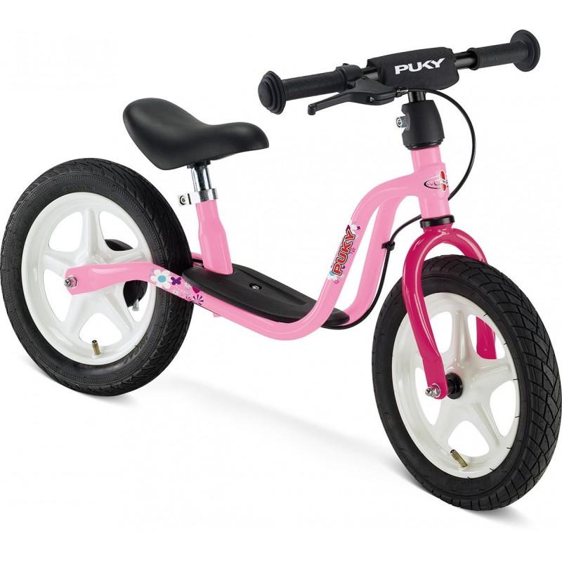 Puky rowerek biegowy LR 1L Br różowy 3+ z hamulcami