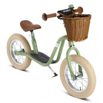 Puky rower biegowy LR XL Classic zielony z białymi oponami