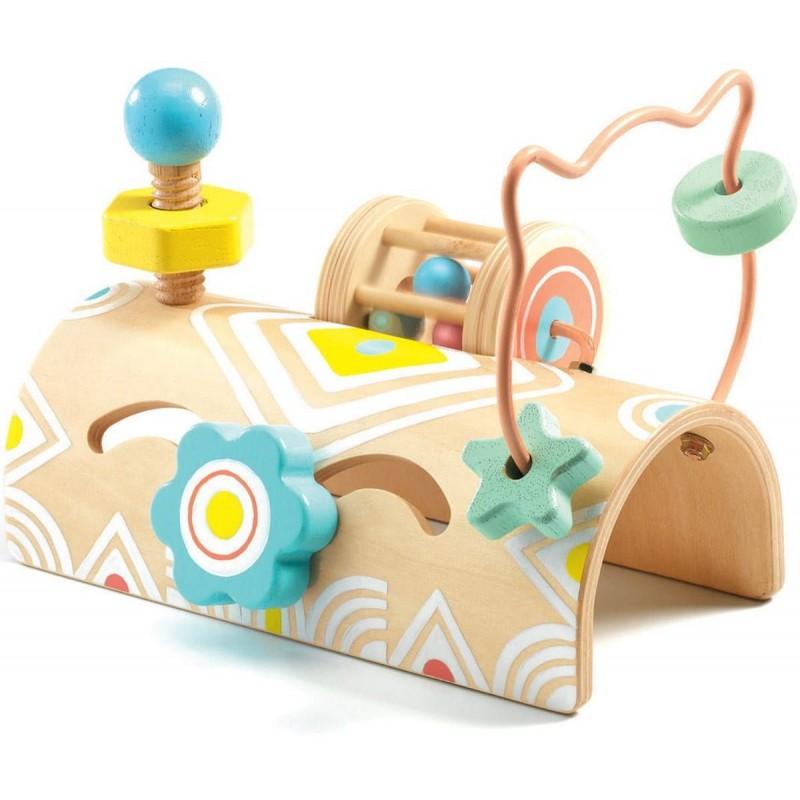 Djeco Zabawka zręcznościowa Baby Tabli dla dzieci +12m