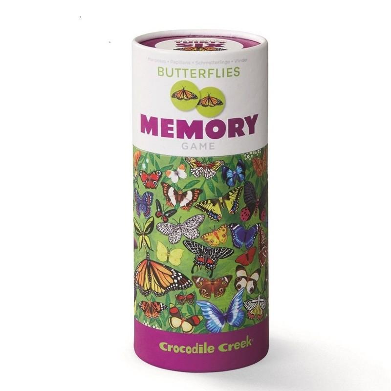 Crocodile Creek Gra memo Motylki Świata 36 par +3