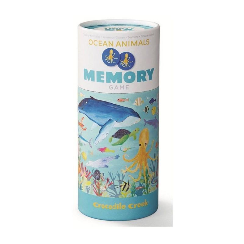 Memo, 72 el., motyw Zwierzęta morskie