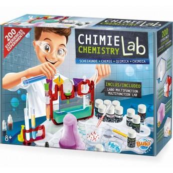 Buki laboratorium chemiczne 200 eksperymentów dla dzieci +8
