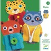Djeco Ziptou zabawka zręcznościowa z zamkami +3