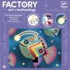 Djeco Factory zestaw Świecące Obrazki Otchłań +8