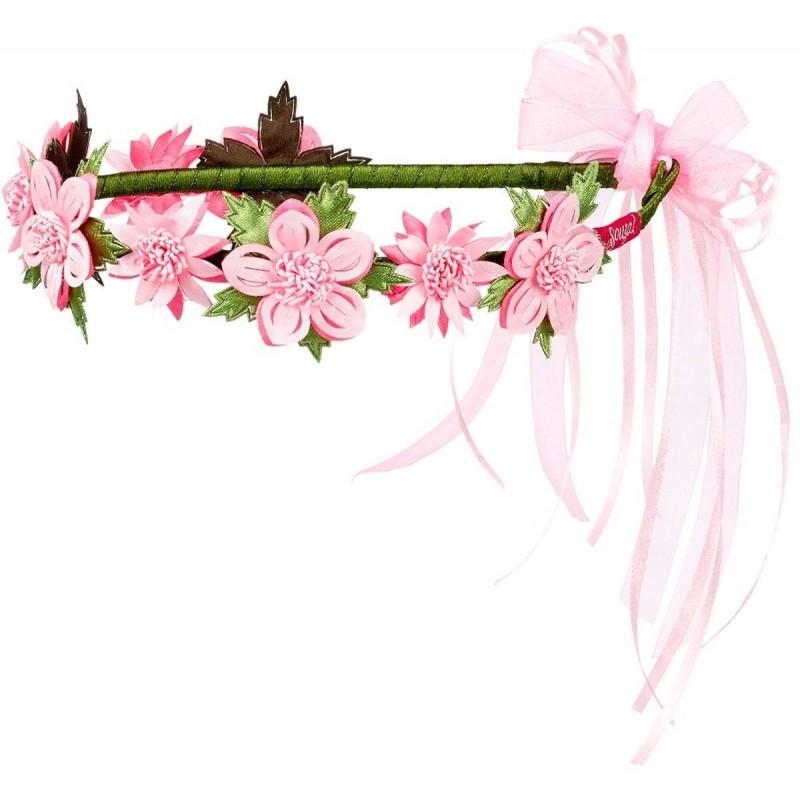 Korona kwiatów dla dzieci Nila fuksja, Souza!