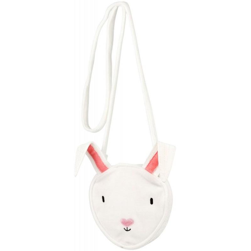 Torebka dla dziewczynek Julya biała z króliczkiem, Souza!