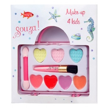 Zestaw do makijażu dla dzieci w torbie, Souza!