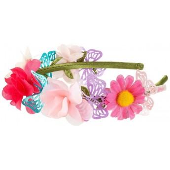 Opaska do włosów dla dziewczyn Yaelle z kwiatami, Souza!