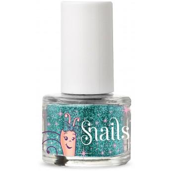 Snails brokat do paznokci Turquoise dla dzieci +3