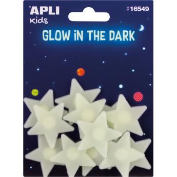 Apli Kids Gwiazdy świecące w ciemności naklejki ścienne