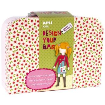Apli Kids Zestaw kreatywny do uszycia torebki od 7 lat