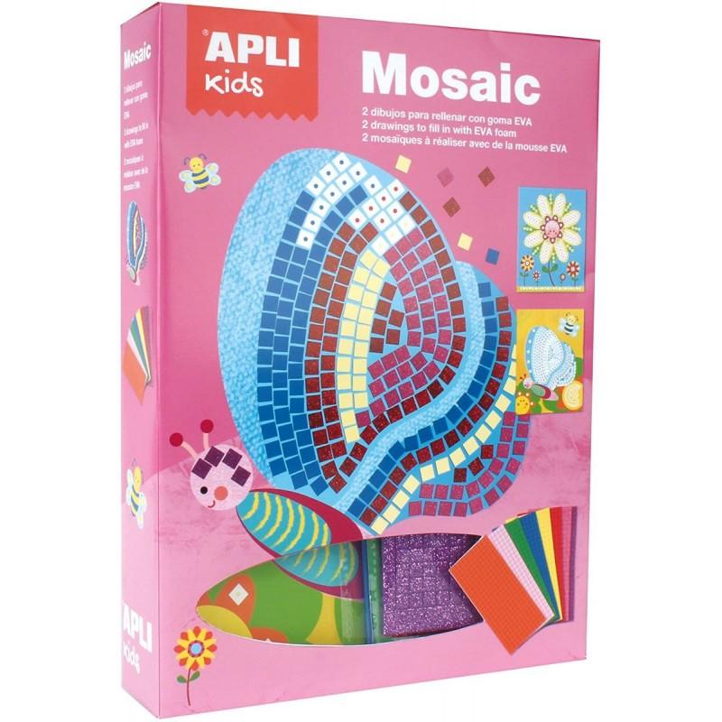 Apli Kids Mozaika piankowa Motylek zestaw artystyczny +4