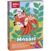 Zestaw artystyczny mozaika Zwierzęta, Apli Kids