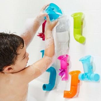 Boon Pipes Cogs Boon zabawka do kąpieli dla dzieic +12 mc