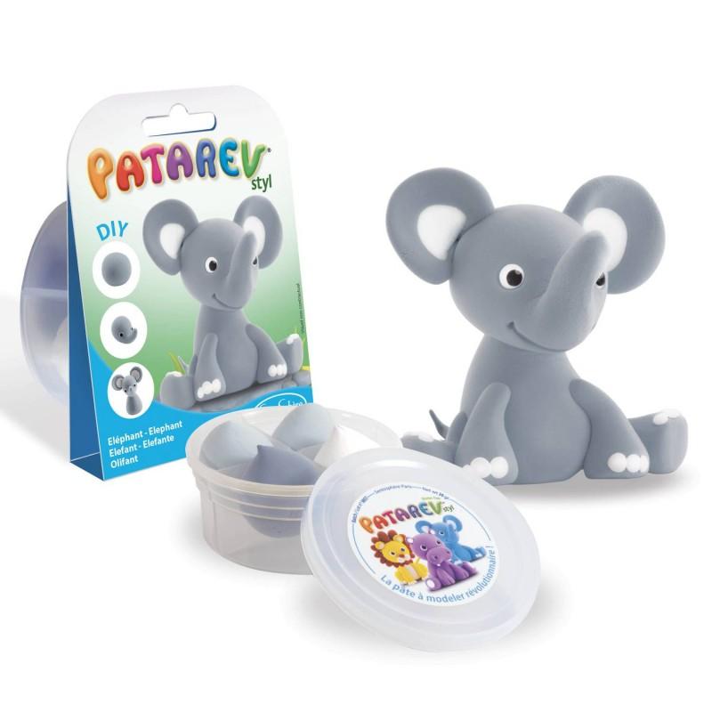 Słoń z masy plastycznej Patarev do robienia +5, SentoSphere