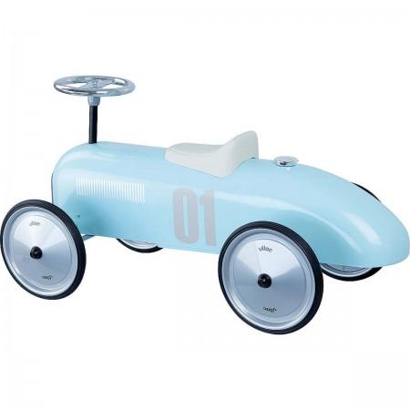 Vilac Jeździk błękitny vintage dla dzieci od 18mc metalowy