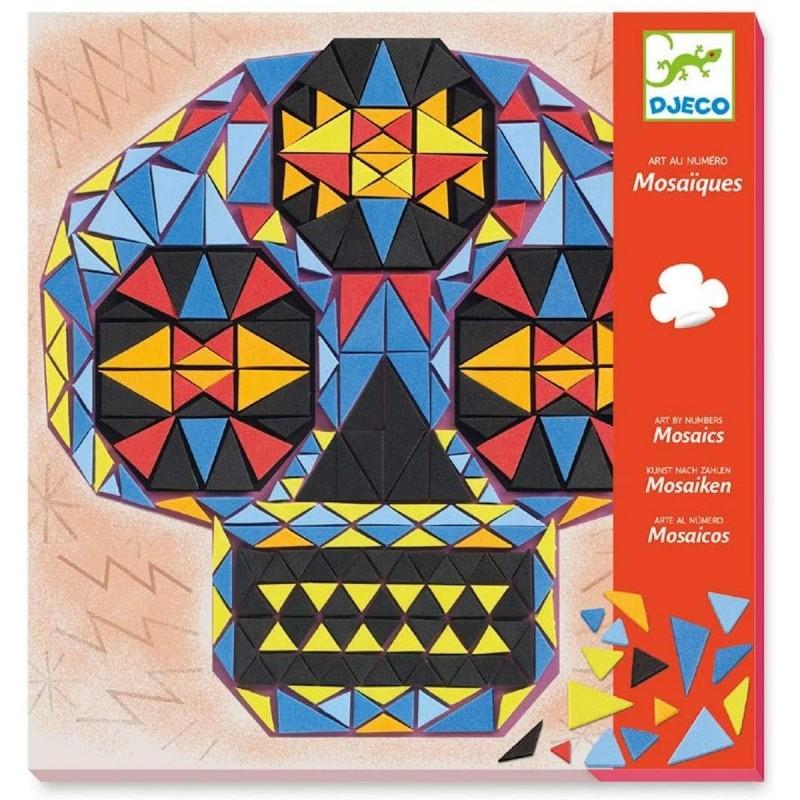 Djeco mozaiki piankowe Czaszki John Doe dla dzieci +4