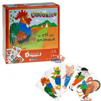 Gra karciana Kukuriku dla dzieci od 4 lat, France Cartes