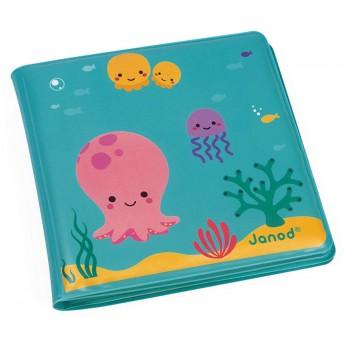 Janod Magiczna książeczka do kąpieli Pod wodą +10m