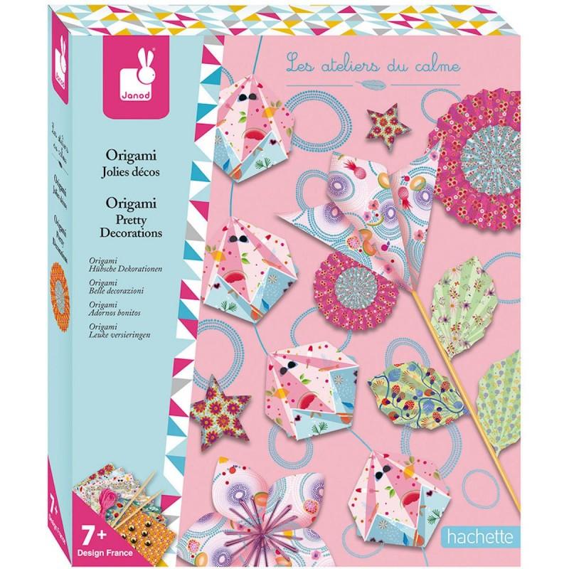 Zestaw kreatywny do tworzenia origami 7+, Janod
