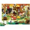 Crocodile Creek gigantyczne puzzle 36 el Leśni przyjaciele +4