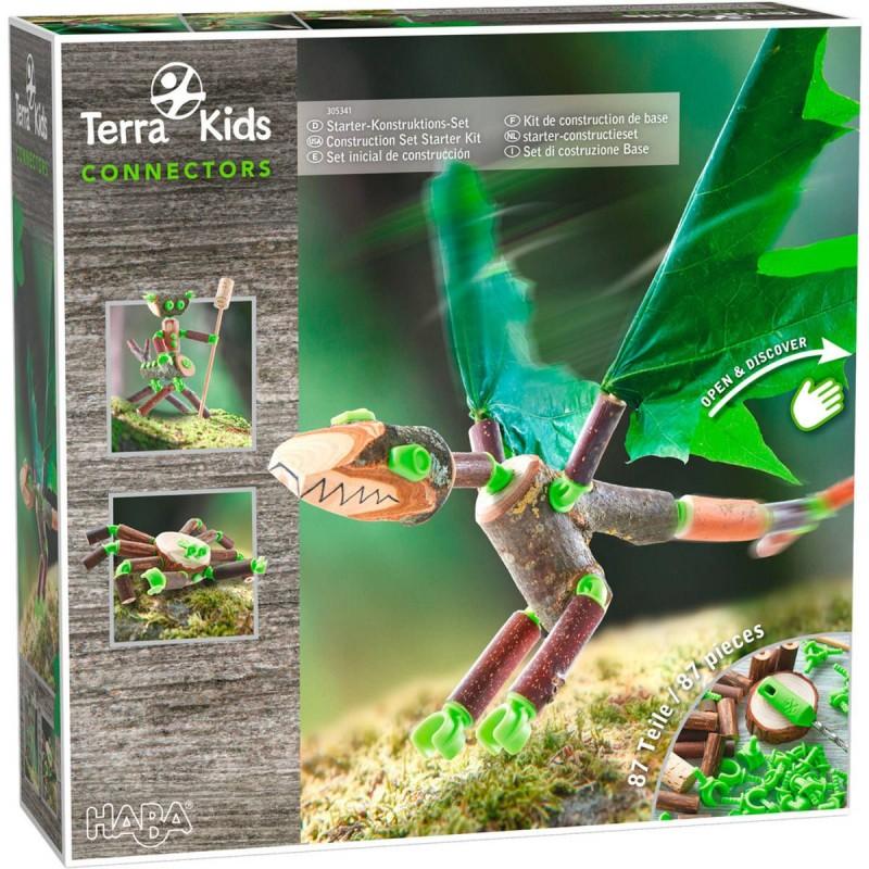 Haba zestaw konstrukcyjny podstawowy Connectors Terra Kids +8