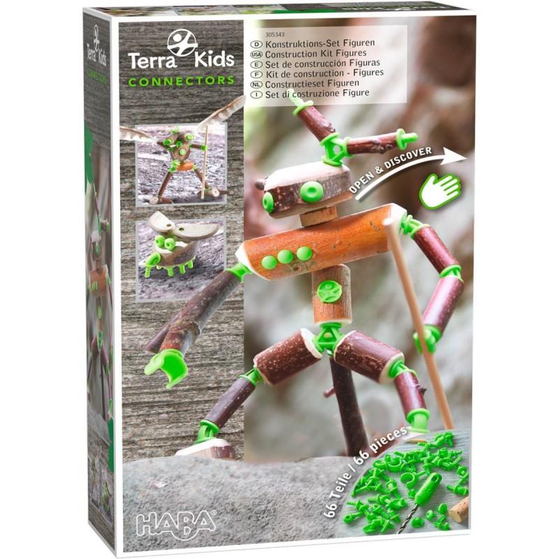 Haba Figurki Connectors Terra Kids zestaw konstrukcyjny +8