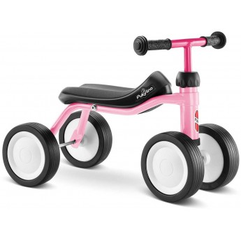 OUTLET PUKYlino jeździk różowy pastel bez opakowania