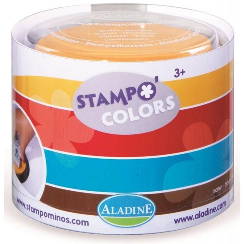 Aladine Zestaw Tuszy Arlekin 4 kolory dla dzieci +3