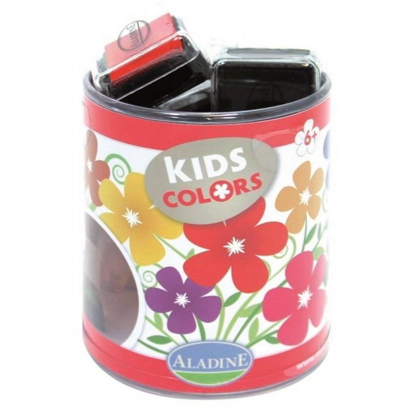 Aladine Zestaw Tuszy Cukierkowy 10 kolorów dla dzieci +3