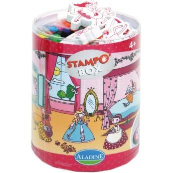 Aladine Baśniowe Box Stempelki piankowe, tusz i markery +4