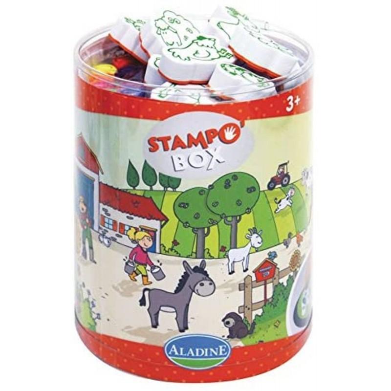 Aladine Stempelki Farma Box