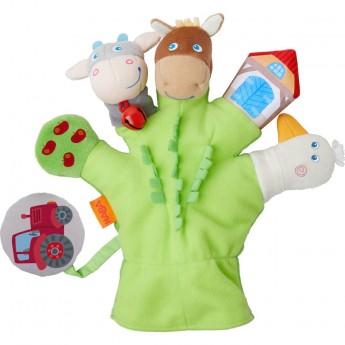 Haba rękawiczka Farma z figurkami do zabawy dla niemowląt