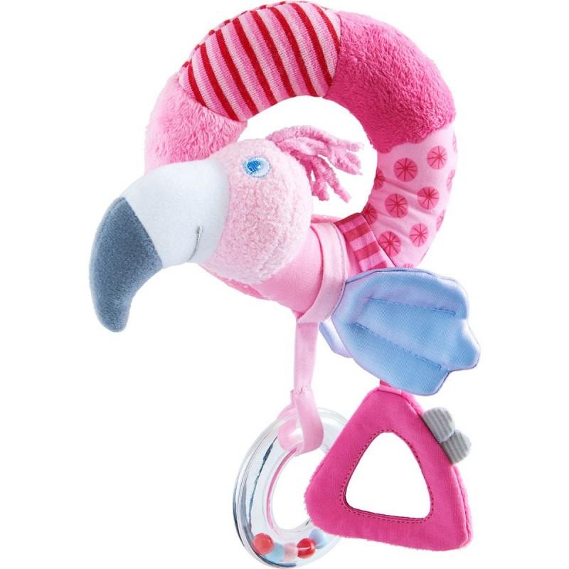 Haba grzechotka Flamingo Gustaw